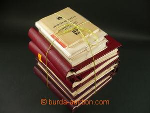 116365 - 1968 ČSR II. / VÝSTAVA PRAGA  studijní sbírka na albových li