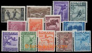 119215 - 1937 Mi.528-535 + 538-542, Sport, 2 kompletní série, známka