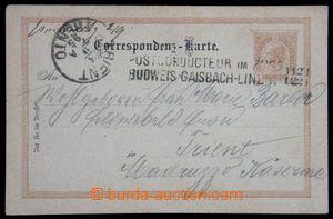 119959 - 1895 VLP POSTCONDUCTEUR IM ZUGE / BUDWEIS–GAISBACH–LINZ No.1
