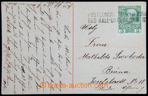 119964 - 1908? VLP POSTCONDUCTEUR IM ZUGE / BAD HALL–UNTERROHRENDORF,