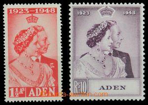 121349 - 1948 Mi.31-32, Stříbrná svatba, svěží, kat. SG £30