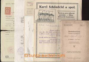 121938 - 1921-72 DIVADLO  sestava dokumentů provozovatelky loutkového
