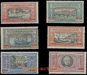 124832 - 1924 Mi.57-62, Manzoni s přetiskem, pro toto vydání mimořádn