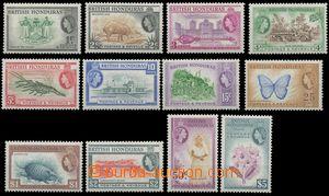 124913 - 1953 Mi.141-152, Alžběta II. + motivy, kompletní série, pěkn