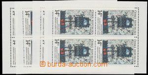 124915 - 1993 Pof.PL5, Hladový svatý, kompletní sestava 4ks podle tis