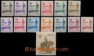 124928 - 1935 Mi.219-232, Návštěva krále Viktora Emanuela III., kompl