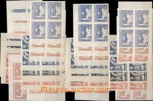 125009 -  Pof.353-359, Košické vydání, rohové miniatury, celkem 28ks