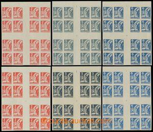 125064 -  Pof.354-356Mx, Košické vydání - velké kříže, od každé hodno