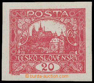 125378 -  Pof.9N, 20h červená, kat. 3.500Kč, luxusní střih
