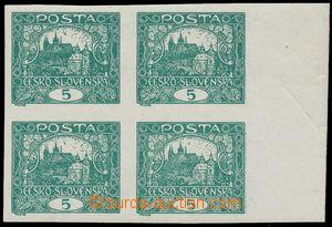 125403 -  Pof.4Nb, 5h tmavě zelená, krajový 4-blok, ZP 69-70, 79-80,