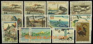 125436 - 1958-73 comp. 13 pcs of stamps issued to International týdnu