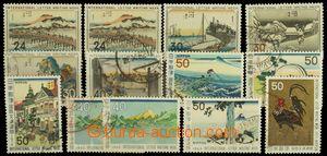 125436 - 1958-73 sestava 13ks známek vydaných k Mezinárodnímu týdnu d
