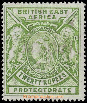 127407 - 1897 Mi.87; SG.98, Královna Viktorie 20R světle zelená, zneh