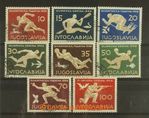 127918 - 1956 Mi.804-11, Olympic Games 1960, complete set, cat. 60€