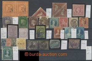 129083 - 1850-60 COLONIES  sestava 29ks klasických známek, CAPE OF GO