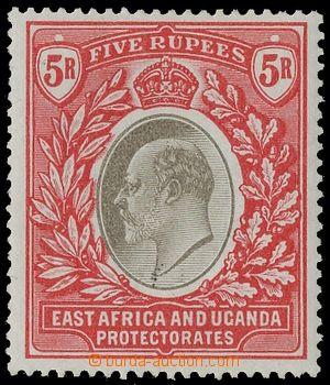 129448 - 1904 Mi.13; SG.30, Edvard VII. 5R červená / šedá, pěkný kus,