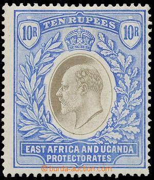 130124 - 1904 Mi.14; SG.31, Edvard VII. 10R ultramarínová / šedá, sig