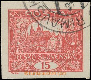 130967 -  Pof.7c, 15h karmínová, naprosto luxusní střih, fragment DR