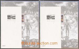 131401 - 1995 PT Vlkolínec, sestava 2ks příležitostných tisků, 1ks čí