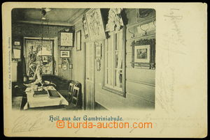 131981 - 1900 ROKYTNICE NAD JIZEROU (Nieder-Rochlitz) - bouda spolku