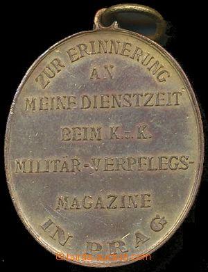 132700 - 1890? RAKOUSKO-UHERSKO  medaile za službu v pražském voje