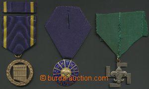 132701 - 1921-34 SKAUTING / ČSR I.  sestava 3ks vyznamenání; 1) svast