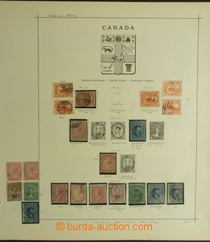 132716 - 1851-1908 [SBÍRKY]  velmi zajímavá sbírka Kolonie a Dominia