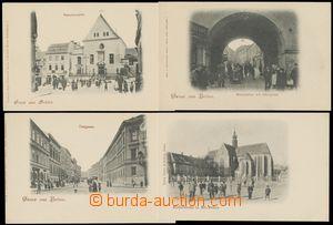 132934 - 1900-05 BRNO (Brünn) - sestava 10ks pohlednic, DA, nepouži
