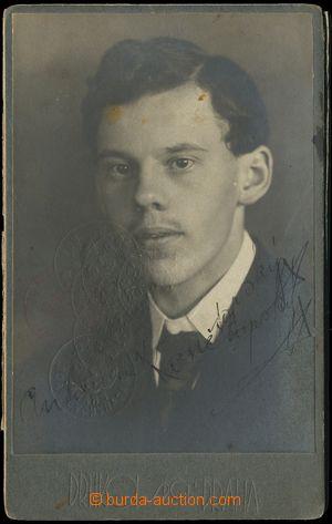 132936 - 1920 SLAVNÍ FOTOGRAFOVÉ, ŽELEZNICE  železniční průkaz