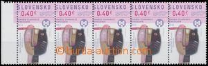133046 - 2011 Zsf.503, BIB 2011, krajová 5-páska, posun perforace v