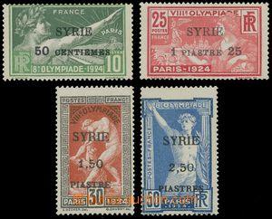 133054 - 1924 Mi.254-257, LOH Paříž, kat.* 220€