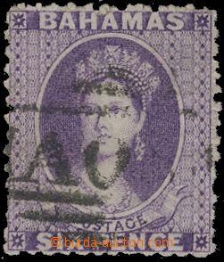 133149 - 1862 Mi.4D, Královna Viktorie v oválu s nápisem POSTAGE,