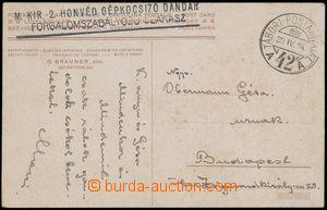 133339 - 1939 PODKARPATSKÁ RUS  pohlednice do Budapešti s DR TÁBOR
