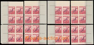 133383 - 1939 Alb.14, Banská Bystrica 1,50CZK red, comp. of 2 miniatu