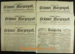 133955 - 1857-70 RAKOUSKO-UHERSKO (MORAVA)  sestava brněnských novin