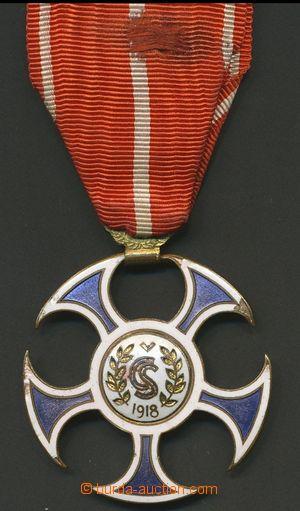 134375 - 1918 ČSR I.  Řád sokola (tzv. Štefánikův řád), kat. Novotný
