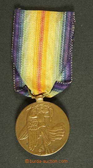 134379 - 1919 ČSR I.  Medaile vítězství, kat. Novotný 7a, podpis meda