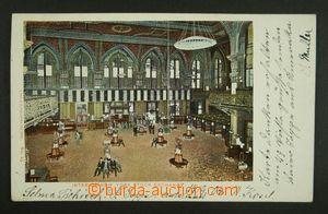134971 - 1904 NEW YORK, Burza cenných papírů - interiér; DA, prošlá,