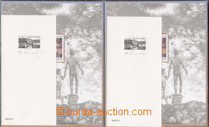 135110 - 1995 PT Vlkolínec, sestava 2ks příležitostných tisků, číslov