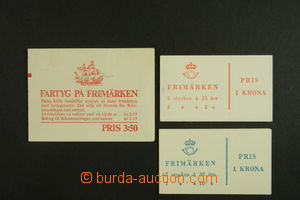 135616 - 1957 comp. 3 pcs of stamp booklets, contains H-Blatt 4 /only