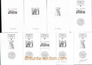 136136 - 1993-95 PT2-7, 10-12, sestava 9ks příležitostných tisků, kat