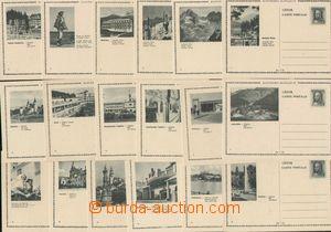136138 - 1944 CDV13/1-18, Propagační, kompletní soubor, kat. Föl. 600