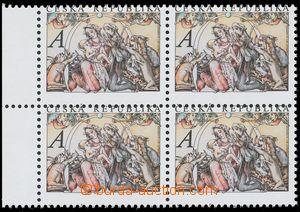 136401 - 2011 Pof.707, Vánoce, hodnota A, VV posun perforace dolů do