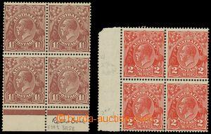 137480 - 1931 Mi.99-100X, Jiří V., průsvitka 7  - koruna nad C of A,