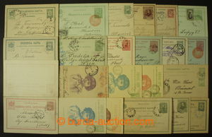 137513 - 1889-1909 [COLLECTIONS]  POSTAL STATIONERY  selection of 22