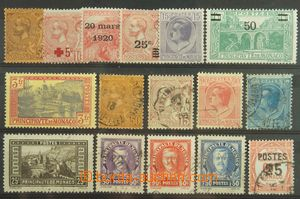 137829 - 1914-37 selection of 16 pcs of, it contains e.g. unused stam