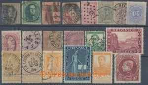 137924 - 1850-1929 sestava 19ks, obsahuje např. Mi.3Bx, 6 II., 9 II.