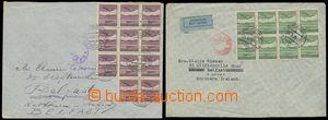 139185 - 1939 sestava 2ks Let-dopisů do Severního Irska vyfr. čs. let