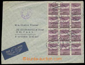 139187 - 1939 Let-dopis do Severního Irska vyfr. leteckou zn. 30h fia