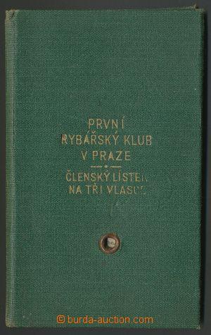 139226 - 1941 RYBÁŘSKÝ LÍSTEK  na jméno Karel Janský, natištěný kolek